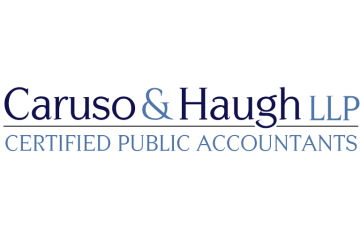 Caruso & Haugh Logo Development by Simply Amusing Designs